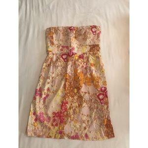 J.Crew floral sleeveless dress